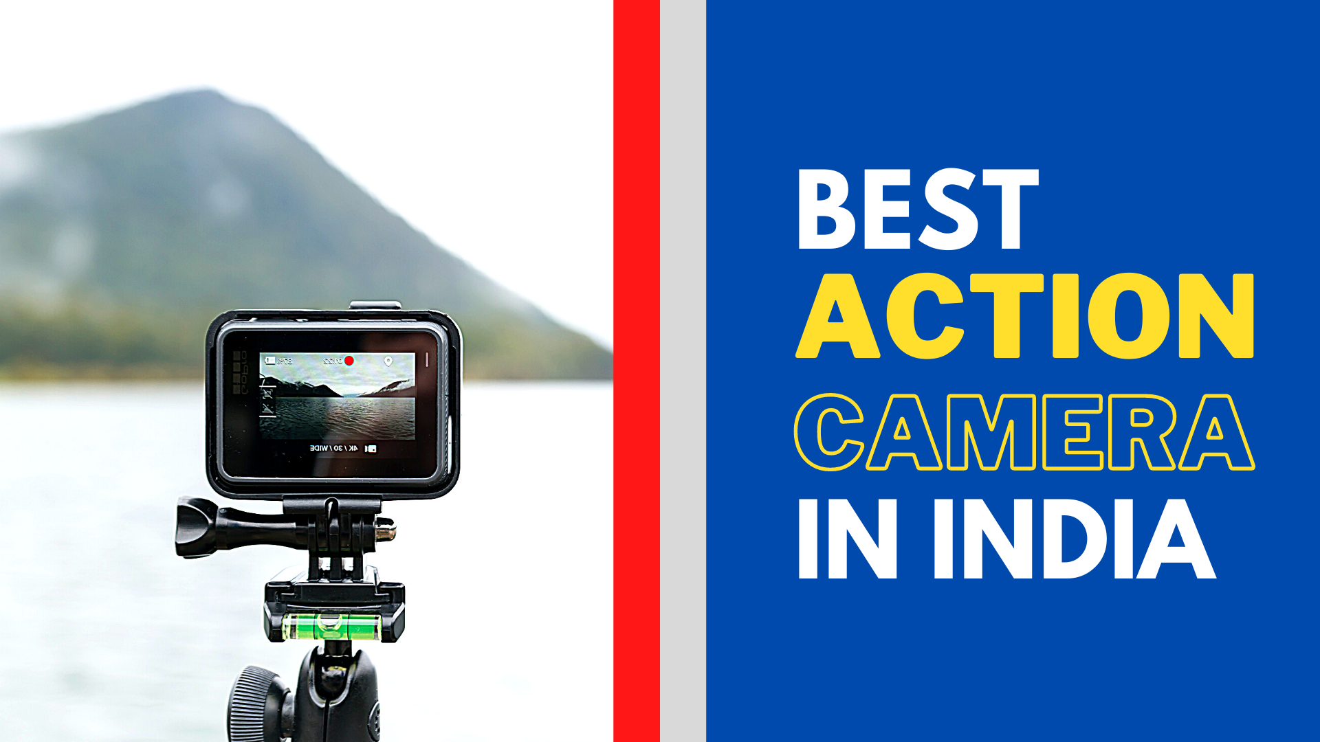 The Best Action Camera in India | Gopro Alternatives 2021